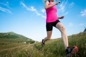 hardlopen vrouw